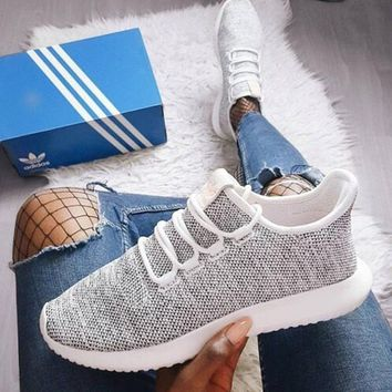 Adidas Originals Tubular Shadow Fashion Running Sneakers Sport Shoes
