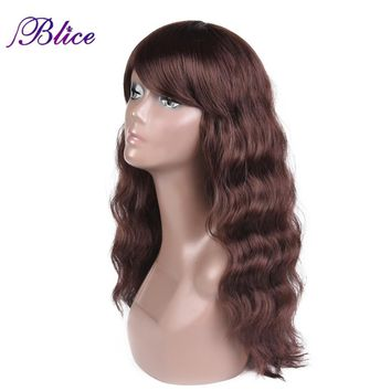 Sythethic Wavy Wig 24 Inches