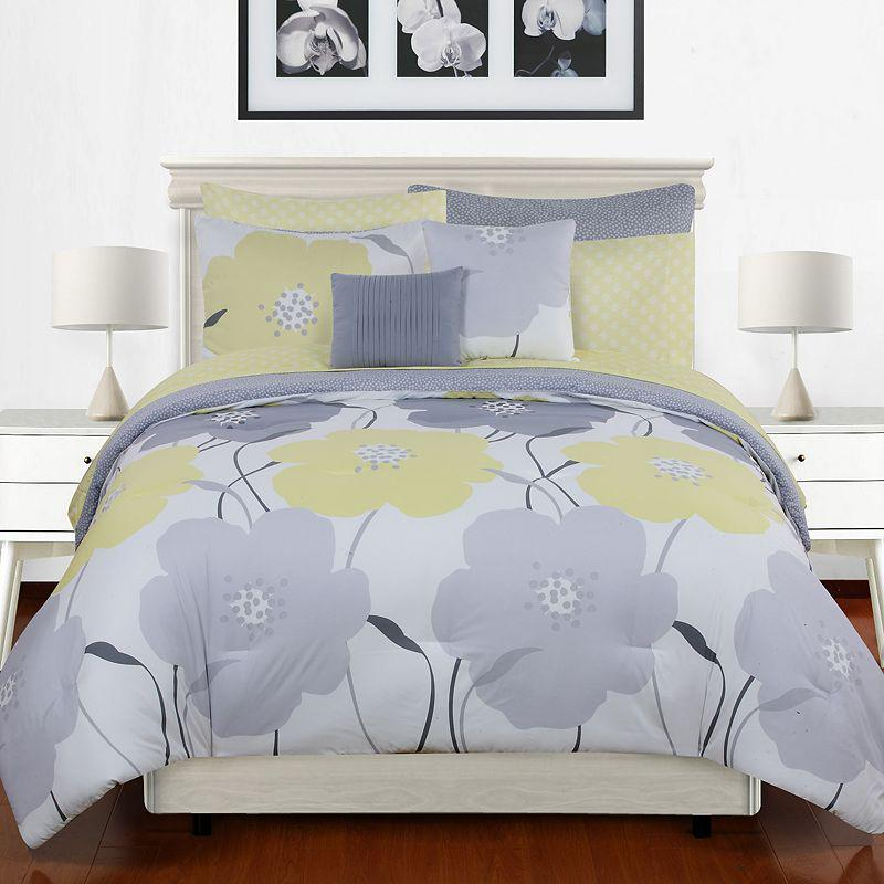Phoebe 5 Pc Reversible Comforter Set From Kohl S Comforters