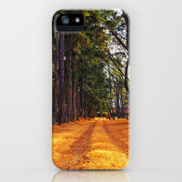 September path iPhone Case by Vorona Photography | Society6