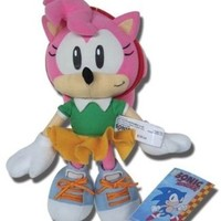 GE Animation Sonic the Hedgehog: Classic Amy Plush