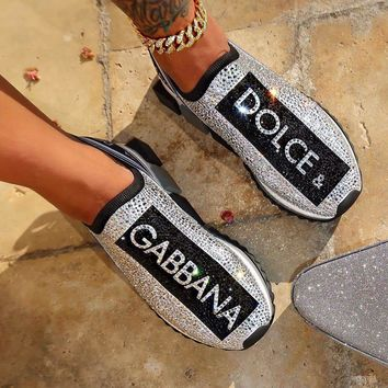 Dolce & Gabbana Sneaker with crystals