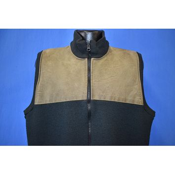 90s Filson Zip-Up Sweater Vest Extra Large