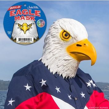 American Bald Eagle Mask