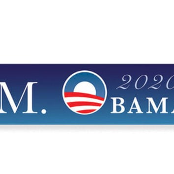 Michelle Obama 2020 Bumper Sticker, Michelle Obama for President 2020 Campaign Decal, 4 more years of Obama