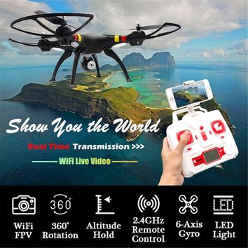 SYMA X8W RC Quadcopter 2.4G 6-Axis Gyro FPV Wifi 0.3MP Camera Drone 3D Rotation Altitude Hold High/Low Speed UAV Helicopter Toys