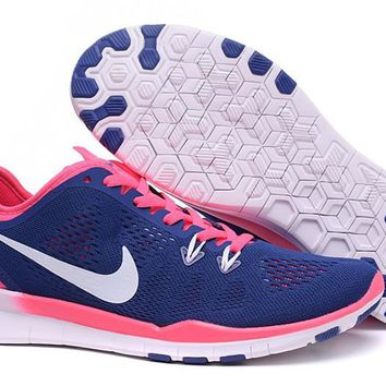 Women's Training Shoes: Nike Free TR FIT 5 Brthe Squadron Blue/Laser Pink