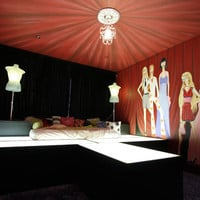 Fashionista's Runway Bed and Mural