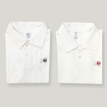 Bulldog Polo Tee