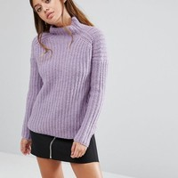 Fashion Union High Neck Knitted Jumper at asos.com