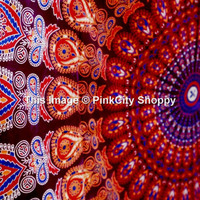 Hippie Tapestry Wall Hanging Indian Mandala Tapestries Bedspread Wall Decor Mandala Tapestry Wall Hanging Hippie Tapestries Ethnic Decor Art