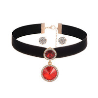 Round Shaper Choker Jewelry Set