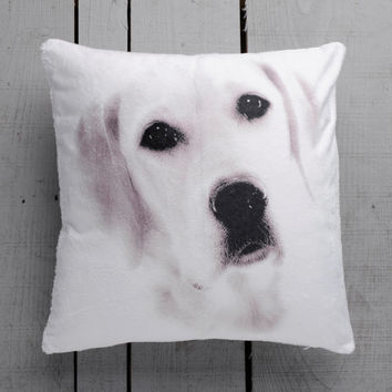 Dog Decorative Pet Pillow Cover Handmade Velvet