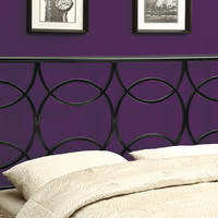 Bed - Queen Or Full Size -  Black Headboard Or Footboard