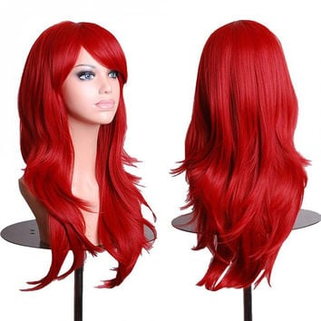 Anime Wig Cosplay Curly Wig Body Wave  Wig