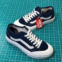 Vans Style 36 Decon Sf Old Skool Blue Sneakers Shoes - Best Online Sale