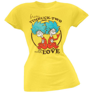 Dr. Seuss - Timbucktwo Juniors T-Shirt