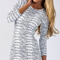 Making Moves Shift Dress - Popcherry