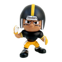 Pittsburgh Steelers NFL Lil Teammates Vinyl Wide Receiver Sports Figure (2 3-4 Tall) (Series 4)