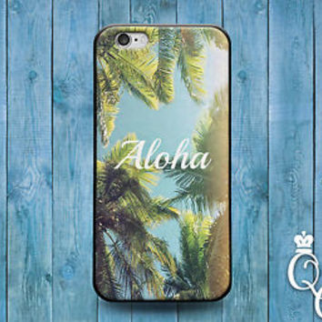 Fun Tropical Palm Tree Case Cute ALOHA Cover iPod Touch iPhone 4 4s 5 5s 5c 6 +