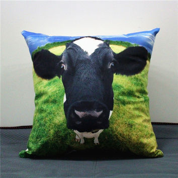 Happy Farm Animals - Cow/Sheep Cushions/Pillows