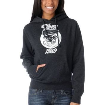 Obey Devious Scumbags Girls Charcoal Pullover Hoodie at Zumiez : PDP