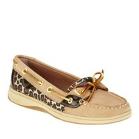 Sperry Top-Sider Women's Angelfish Boat Shoe,Linen Nubuc Leather,8.5 M US