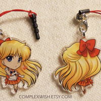 Reversible Sailormoon Charm - Sailor Venus