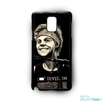 5 SOS Ashton Irwin for phone case Samsung Galaxy Note 2/Note 3/Note 4/Note 5/Note Edge