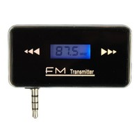 Stereo Radio Car FM Transmitter For Smart Phone (black)