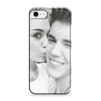 Justin Bieber and Miley Cyrus iPhone 6 Plus | iPhone 6S Plus case