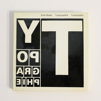 Display | Typography: A Manual of Design | Modern and Rare Graphic Design Books