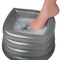 Smartworks Soothing Inflatable Foot Spa with Air Pump