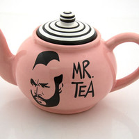 Mr. T Tea Teapot in PINK