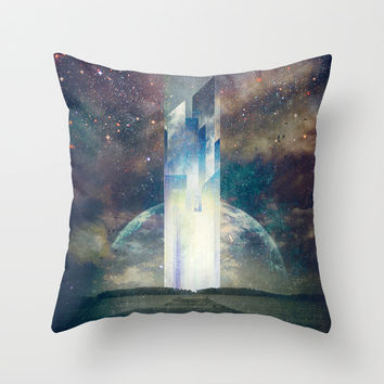It´s your fault Throw Pillow by HappyMelvin