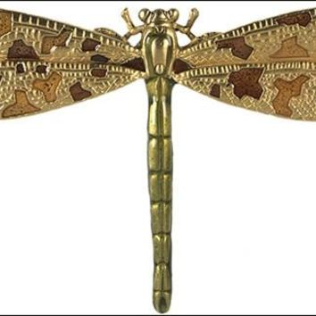Dragonfly Art Nouveau Brooch Pin from Brooklyn Museum Library 3W