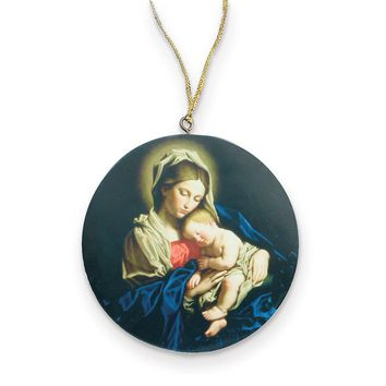 Madonna & Child Christmas Ornament