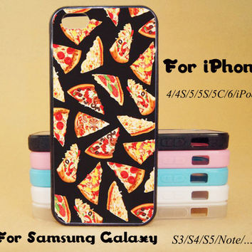 Pizza,iPod touch 5 case,HTC One X Case,iPhone 5C Case,iPhone 5S Case,iPhone 4 Case,Galaxy Samsung S3, S4,S5,Note 2/3 case