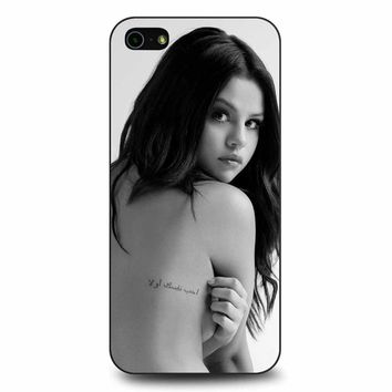 Selena Gomez 3 iPhone 5/5s/SE Case