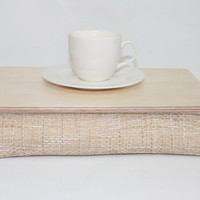 Wooden Ipad Table / S Size Bed Tray / Serving Tray / Pillow Tray / Breakfast Tray / Laptop Stand