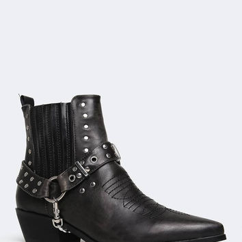 Laso Studded Ankle Bootie