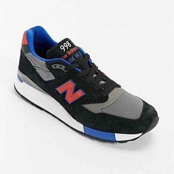 ICIKGQ8 new balance made in usa 998 running sneaker black