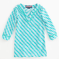 Girls' Tunics: Whale Print Tunic for Girls - Vineyard Vines