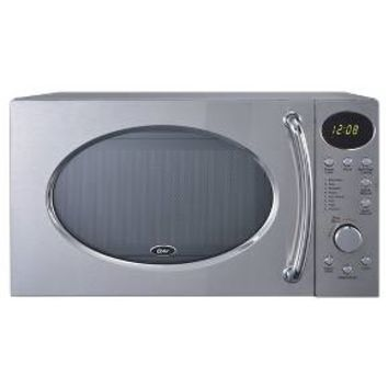 Oster 0.7 Cu. Ft. 700 Watt Microwave Oven - Chrome OGHS0703