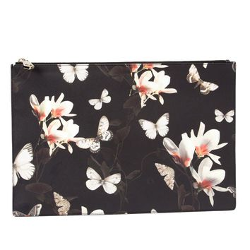 Givenchy Butterfly Print Clutch - L'eclaireur - Farfetch.com
