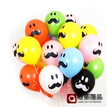 Limited  Balon  inch  Printed  Latex  Balloons  Funny