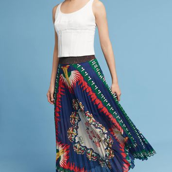 New York, New York Pleated Skirt