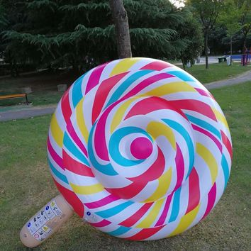 200cm Giant Inflatable Lollipop Pool Float