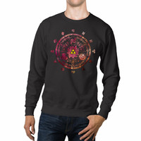 The Legend Of Zelda Triforce Galaxy Unisex Sweaters - 54R Sweater