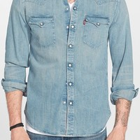 Men's Levi's 'Barstow' Denim Western Shirt,